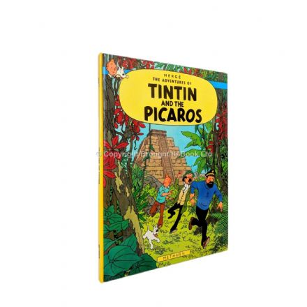 The Adventures of Tintin and the Picaros by Hergé First Edition Methuen 1976
